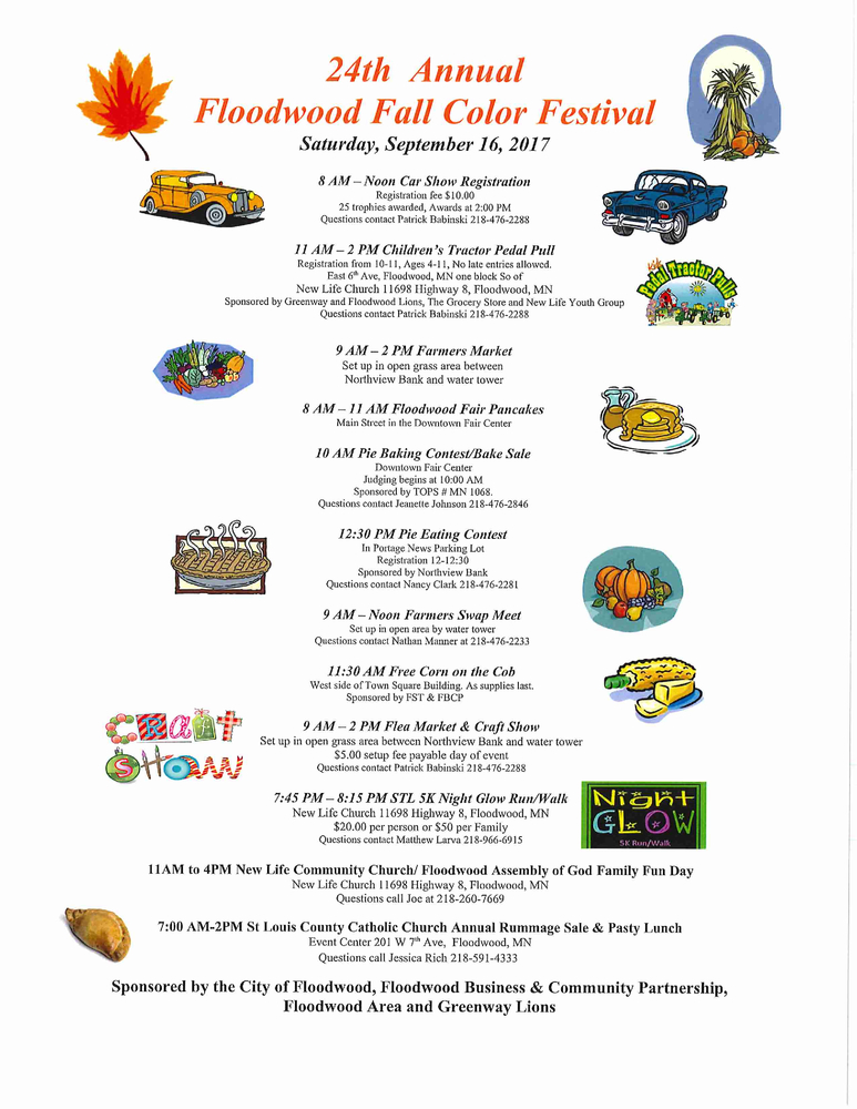 Floodwood Fall Color Festival